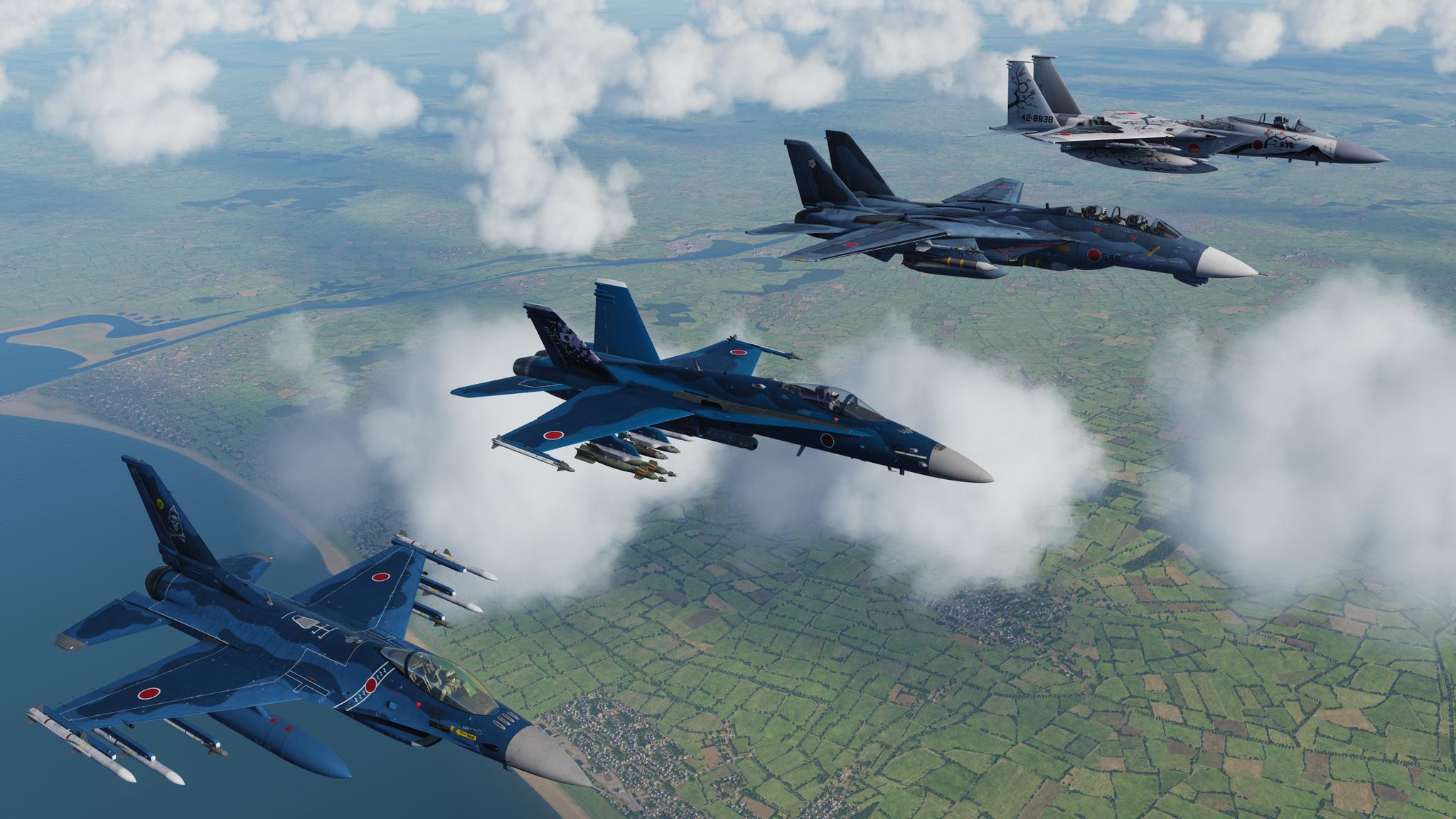 Обои Самолёт, f-15j. Авиация foto 3
